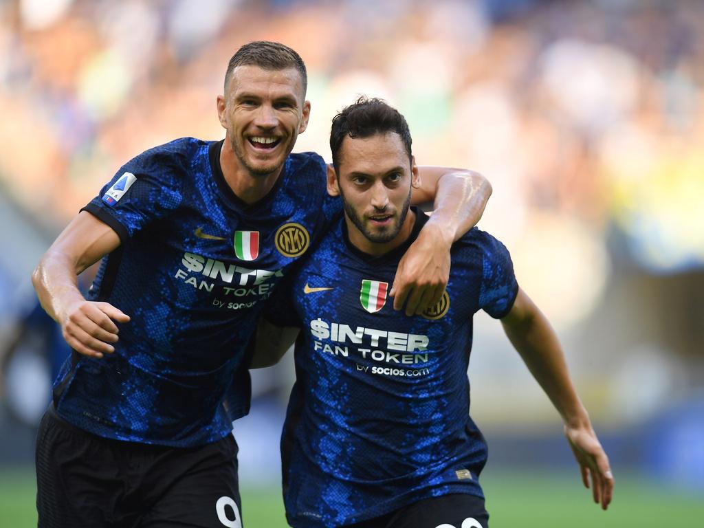 Inter Milan đánh bại Bologna vươn lên ngôi đầu bảng