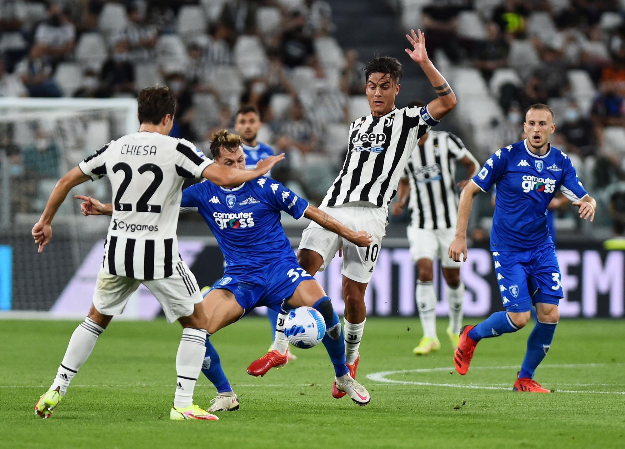 Juventus gặp nhiều khó khăn trong lực lượng trước trận gặp Napoli