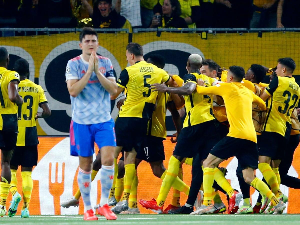 Young Boys bất ngờ giành chiến thắng trước đối thủ mạnh Manchester United