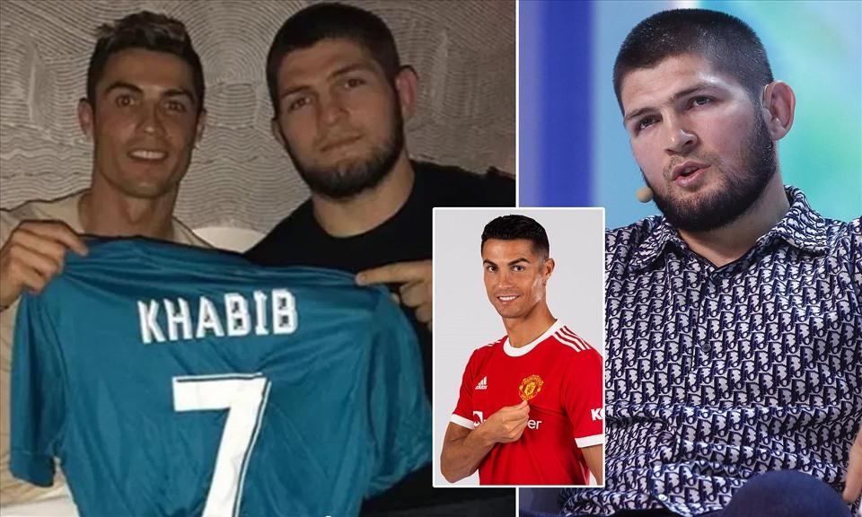 Võ sĩ người Nga Khabib và Ronaldo