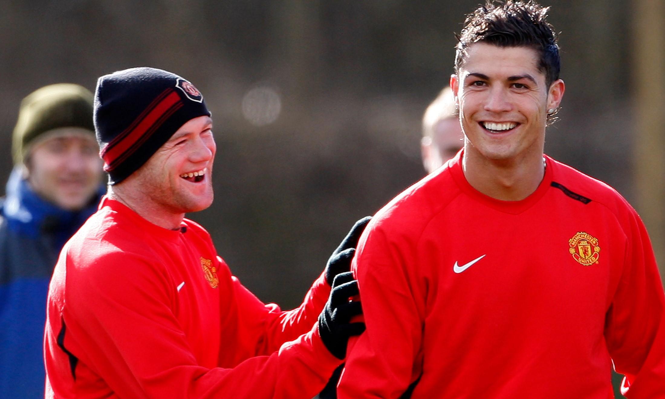 Wayne Rooney và Cristiano Ronaldo