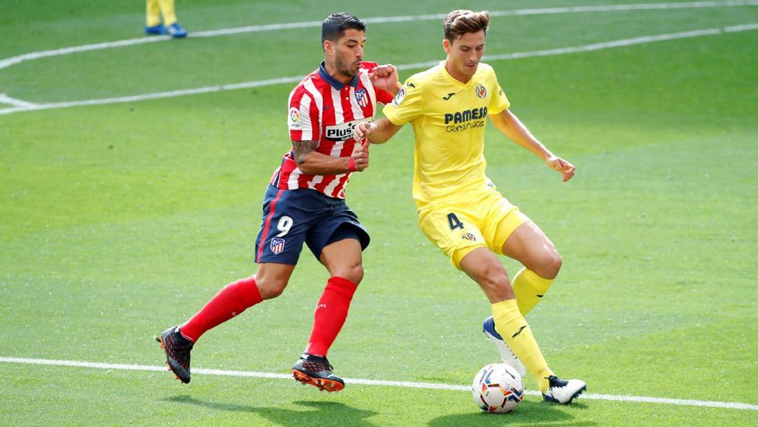 Atletico Madrid 2 - 2 Villarreal: Suarez tỏa sáng, Mandi phản lưới nhà