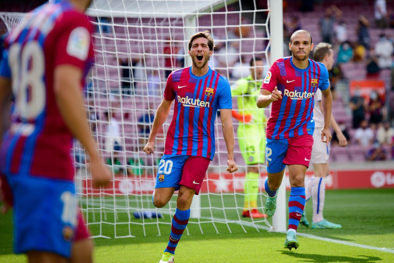 Memphis Depay tỏa sáng, Barcelona thắng Getafe với tỷ số 2 - 1