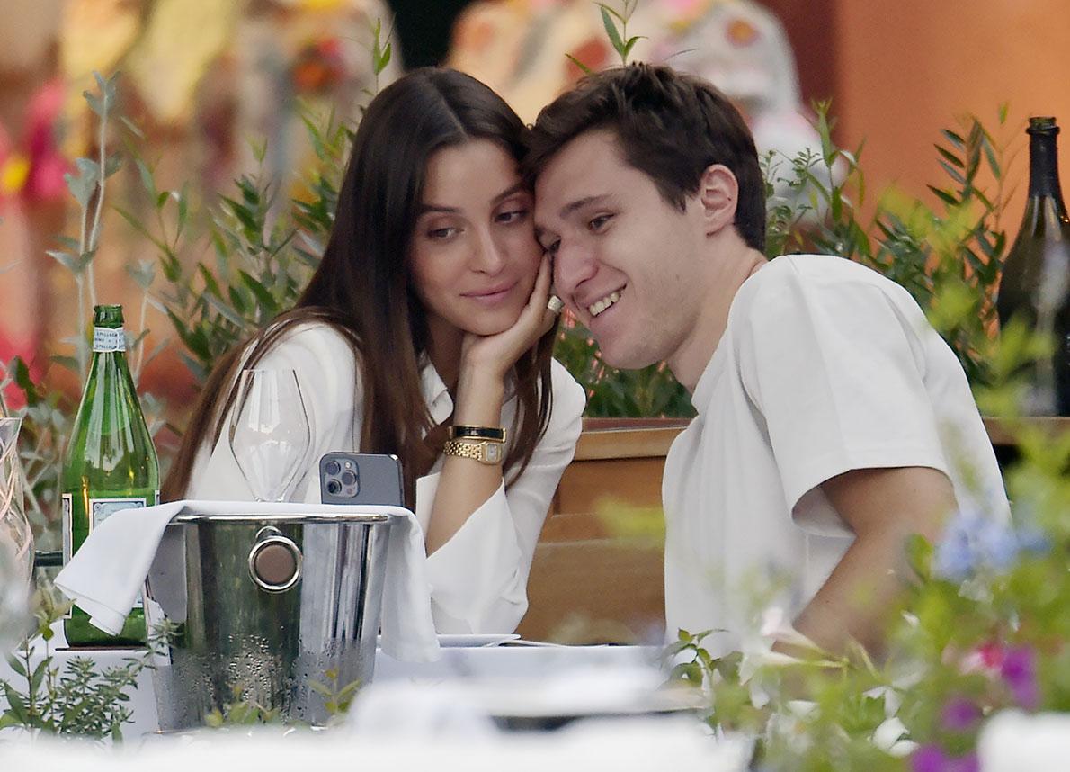 Federico Chiesa và bạn gái