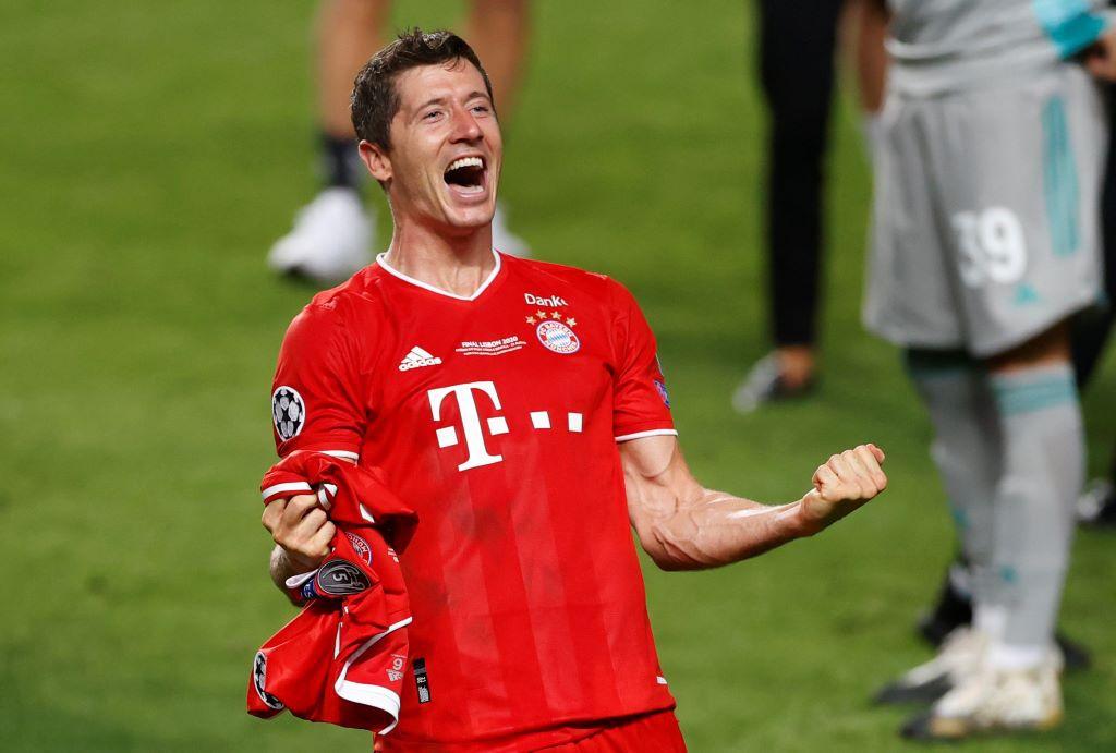 Lewandowski đóng vai trò trụ cột trong đội hình Bayern