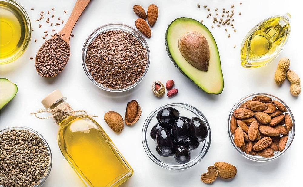 Sử dụng thực phẩm chứa chất béo