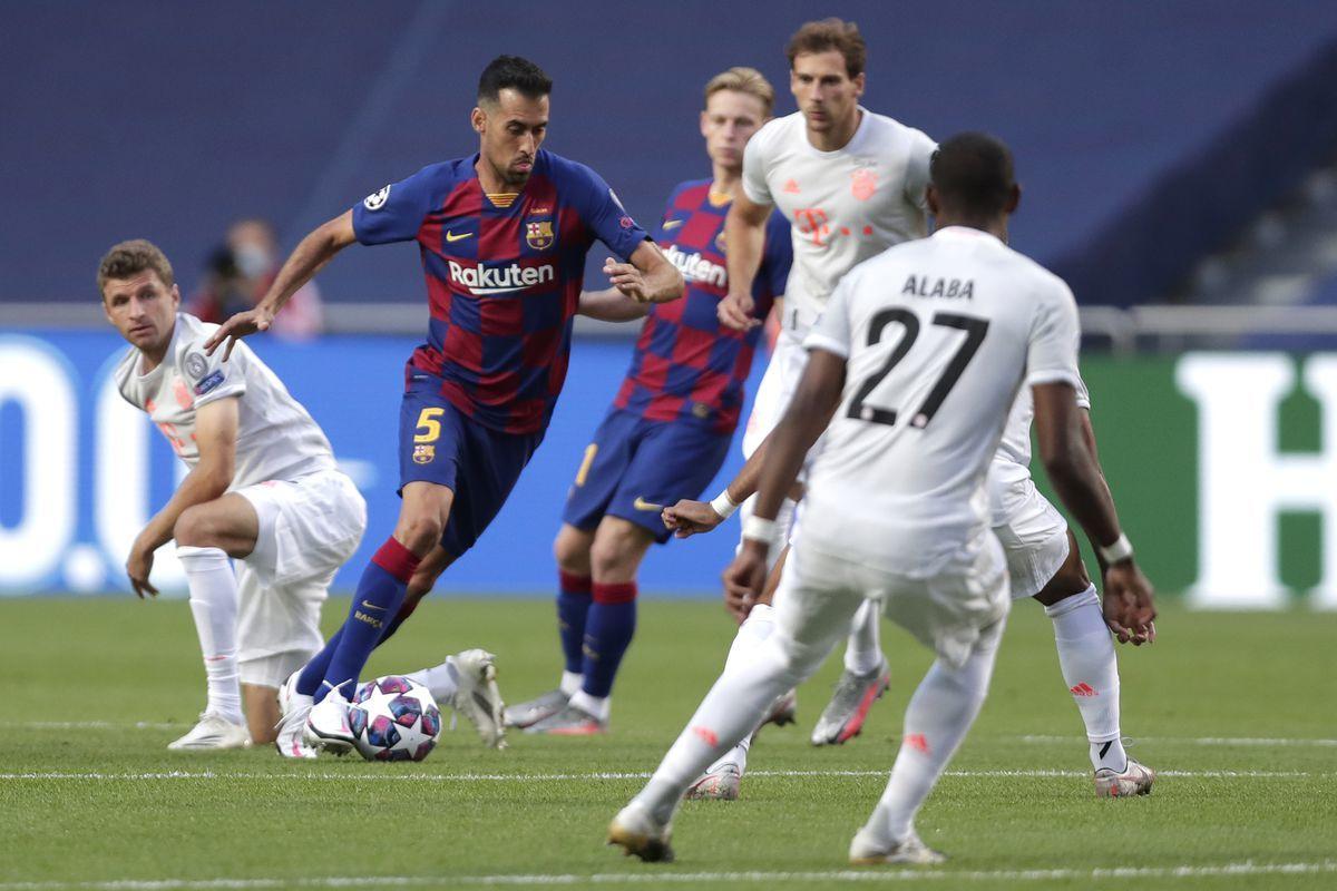 Barcelona tiếp tục thua đậm trước đối thủ cũ Bayern Munich